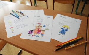 illustration von claudia vollmer im Gruppenprojekt für sexuelle präventionen bei grundschülern gemeinsam mit philipp rößler und thomas kores