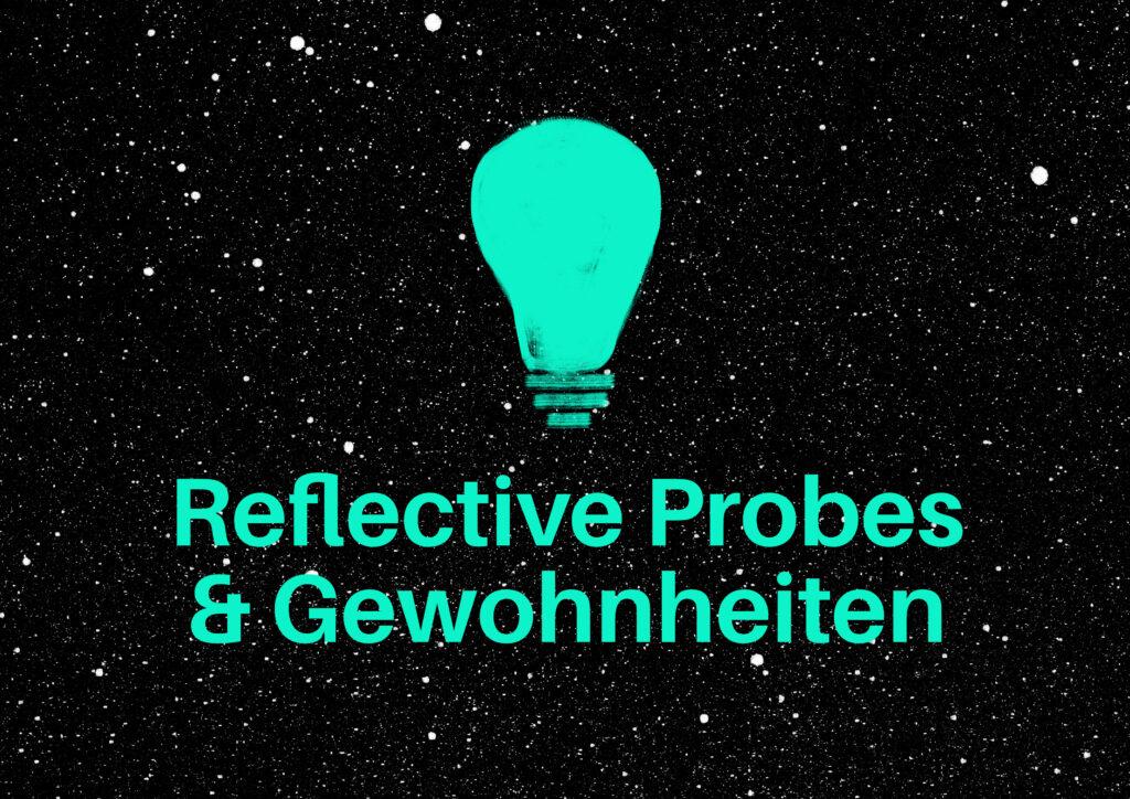 reflective probe und gewohnheiten titelbild claudia vollmer